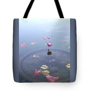 Romantic Pond Tote Bag