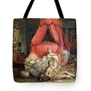 Romantic Scene Tote Bag