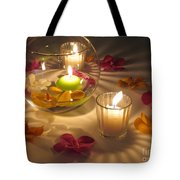 Romantic Setting Tote Bag