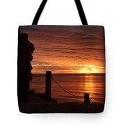 Romantic Setting Tote Bag
