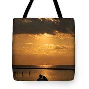 Romantic Sunrise Tote Bag