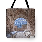 Rome Colosseum Interior 01 Tote Bag