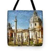 Rome Italy - Drawing Tote Bag