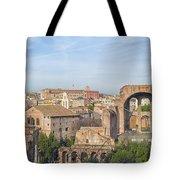 Rome Roman Forum 01 Tote Bag