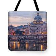 Rome Saint Peters Basilica 01 Tote Bag