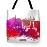 Rome Skyline Tote Bag