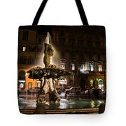 Rome's Fabulous Fountains - Fontana Del Tritone Tote Bag