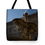 Rome's Fabulous Fountains - Piazza Farnese Fountain Tote Bag