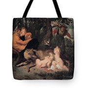 Romulus And Remus Tote Bag