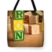 Ron - Alphabet Blocks Tote Bag