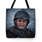 Ron On His Shadow Tote Bag