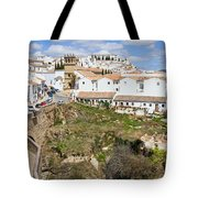 Ronda Old City In Spain Tote Bag