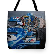 Ronnie And Francois Tote Bag