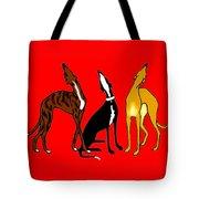 Roo Greyhounds Tote Bag
