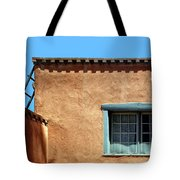 Roof Corner With Ladder And Window Tote Bag