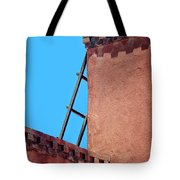 Roof Corner With Ladder Tote Bag
