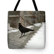 Roof Crow Tote Bag