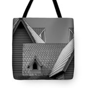 Roof Lines Tote Bag