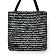 Roof Shadows Tote Bag