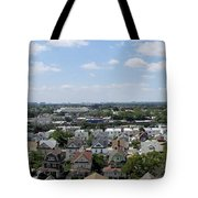 Jamaica Ny Rooftop Panorama Tote Bag