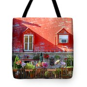 Rooftop Patio Tote Bag