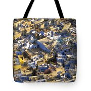 Rooftops In India Tote Bag