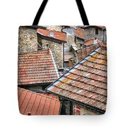 Rooftops Of Apricale.italy Tote Bag