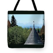 Rooftops Of Carcassonne Tote Bag