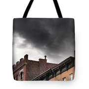 Rooftops Of New York Tote Bag