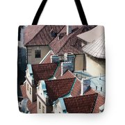 Rooftops Of Prague In Czechia Europe Tote Bag