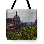 Rooftops Of Rome Tote Bag