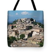 Rooftops Of The Italian City Tote Bag