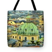 Rooftops Of Vienna Tote Bag