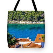 Rooftops Sea And Stone Islands Tote Bag