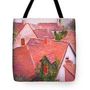 Rooftops Trogir Croatia Tote Bag