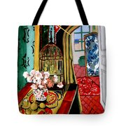 Room With A View After Matisse Tote Bag