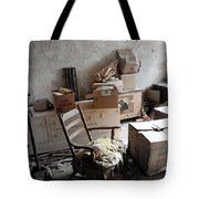 Room With One Window Tote Bag