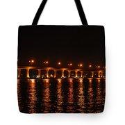 Roosevelt Bridge Panorama Tote Bag
