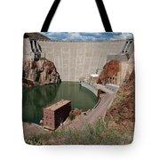 Roosevelt Dam Tote Bag