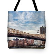 Roosevelt Island Tramway Tote Bag