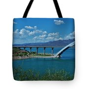 Roosevelt Lake 3 - Arizona Tote Bag