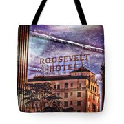 Roosevelt Retro Tote Bag