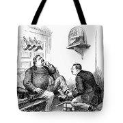 Roosevelt-taft Cartoon Tote Bag