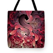 Rooster Abstract Tote Bag