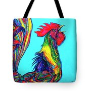Rooster Crow Tote Bag