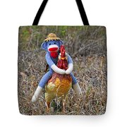 Rooster Rider Tote Bag