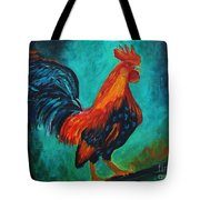 Rooster Tails Tote Bag