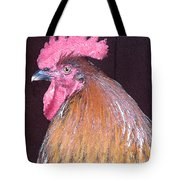 Rooster Watercolor Tote Bag