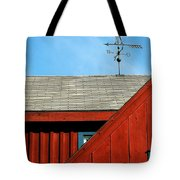 Rooster Weathervane Tote Bag