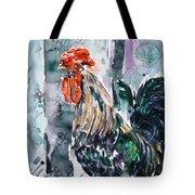 Rooster  Tote Bag by Zaira Dzhaubaeva